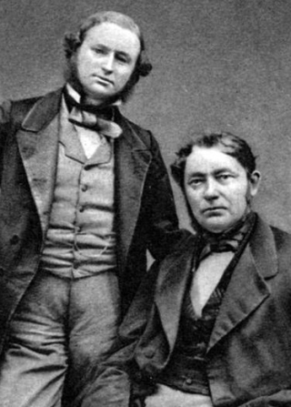 Gustav-Kirchhoff-And-Robert-Bunsen-e